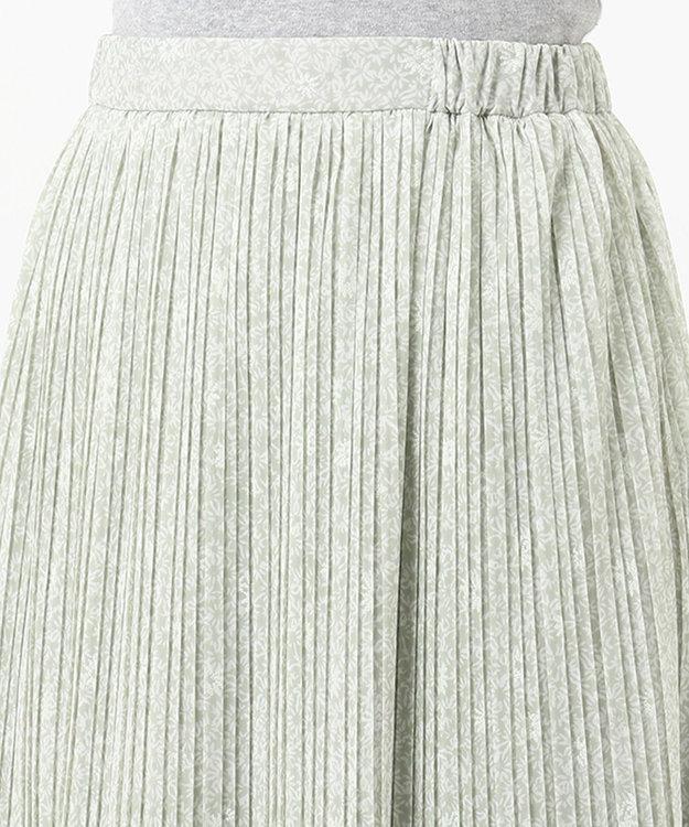 any SiS 【洗える】刺繍風ミニフラワープリント スカート