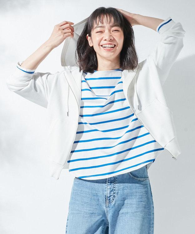 組曲 【KMKK】VIS/PE ニットアップ ジップアップパーカ(KF22)