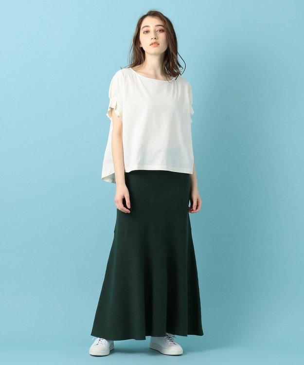#Newans 【洗える】スムースコットンマーメイドスカート