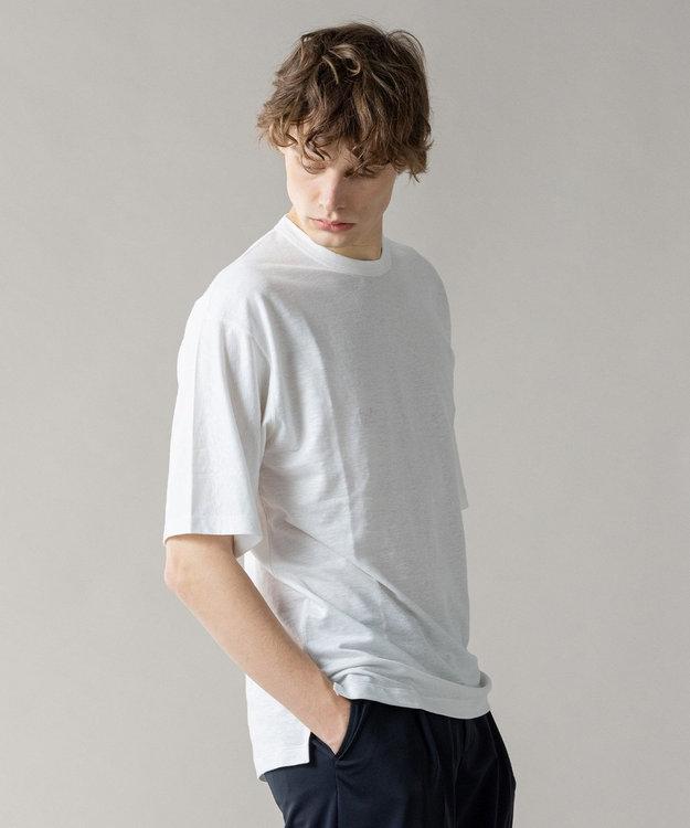 JOSEPH HOMME トップリネン Tシャツ