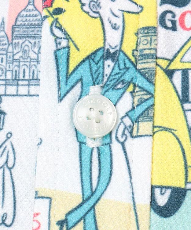 23区GOLF 【MEN】【吸汗速乾/UV】25周年 イラストレーターコラボ シャツ