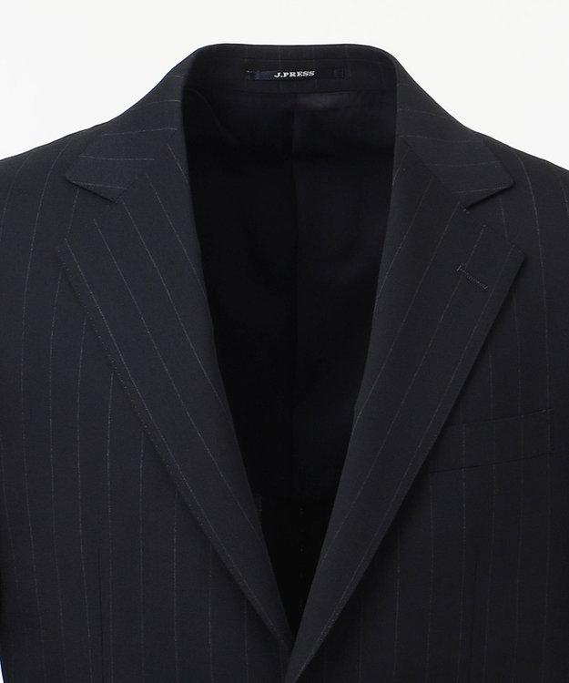 J.PRESS MEN 【一部店舗・WEB限定】エクストラファインチョークストライプ スーツ