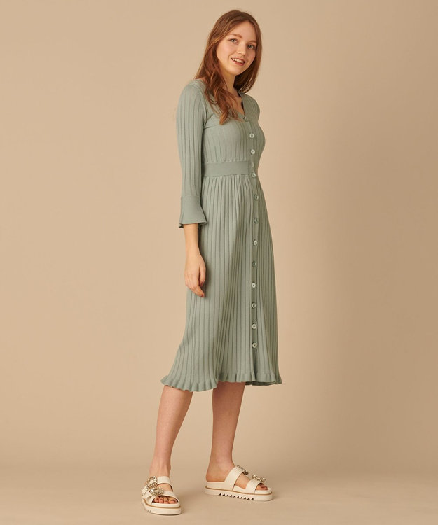 TOCCA 【TOCCA LAVENDER】【Ecovero】Mermaid KnitDress ニットドレス