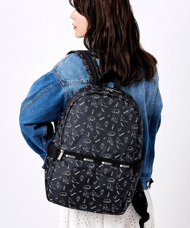 LeSportsac CARRIER BACKPACK/キャットアンドフィンチ