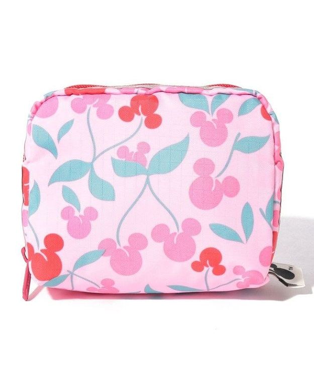 LeSportsac SQUARE COSMETIC/ミッキー チェリー