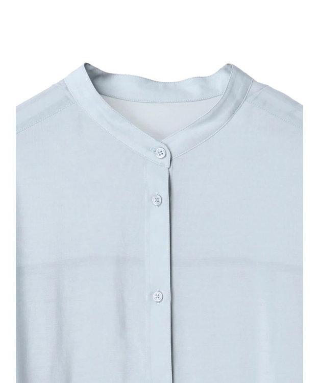 YECCA VECCA マルチwayシルキーロングシャツ