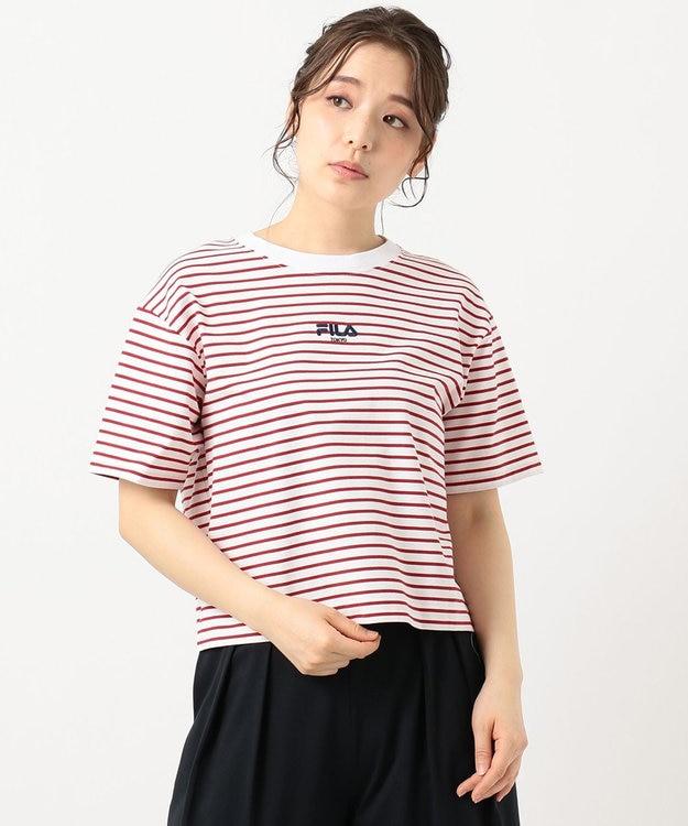 組曲 【FILA別注】ロゴ カットソー