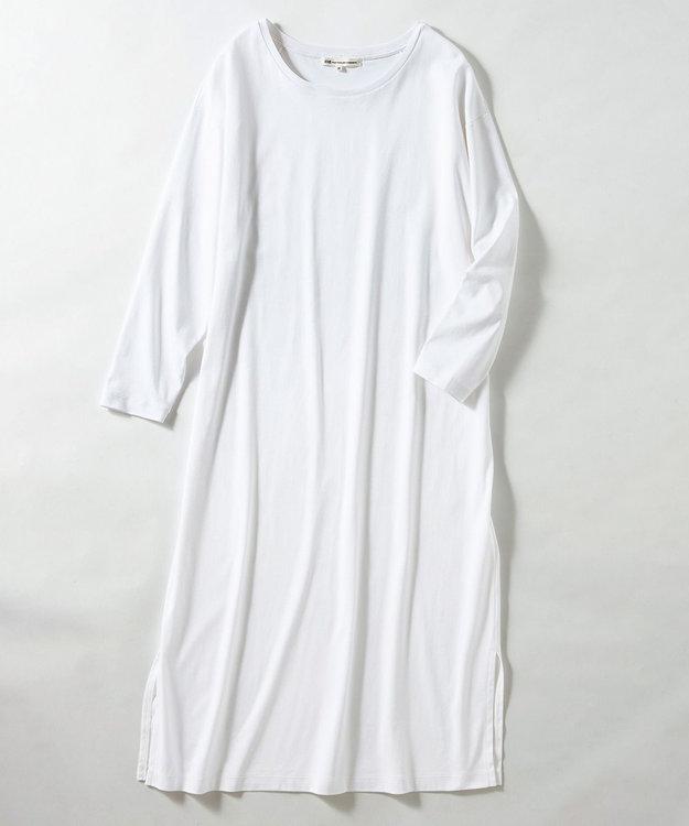 23区 【マガジン掲載】コットン Tシャツ ワンピース(番号R27)