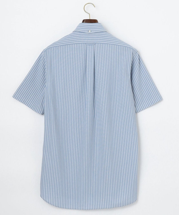 J.PRESS MEN 【J.PRESS PLUS】カノコインレイボーダーパッチポケット BDシャツ