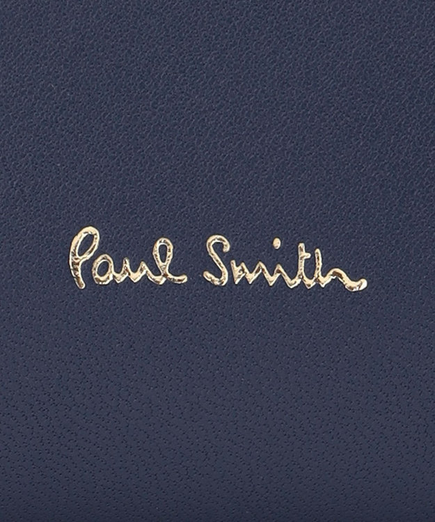Paul Smith スワールインセット ディテール ラウンドファスナー長財布
