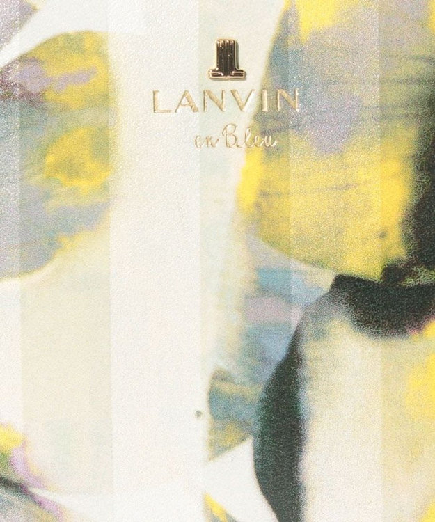 LANVIN en Bleu マルソー ラウンド長財布
