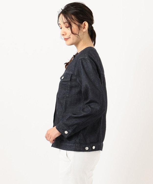 J.PRESS LADIES S 【洗える】8.5oz Stretch Denim デニムジャケット