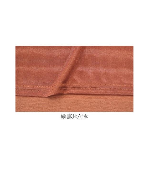 Tiaclasse L 【洗える】幅広く活躍が期待できる、麻調裾タックチュニック