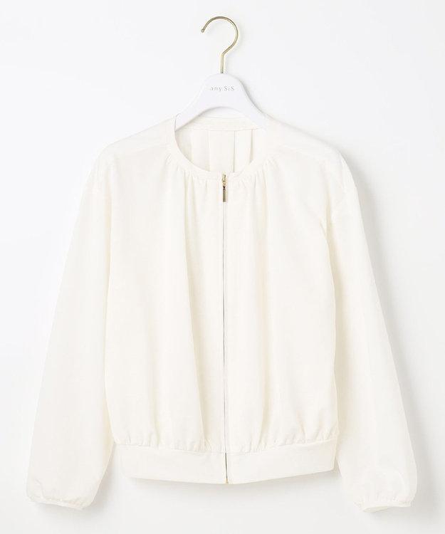 any SiS L 【洗える】カットライクシャツ ブルゾン