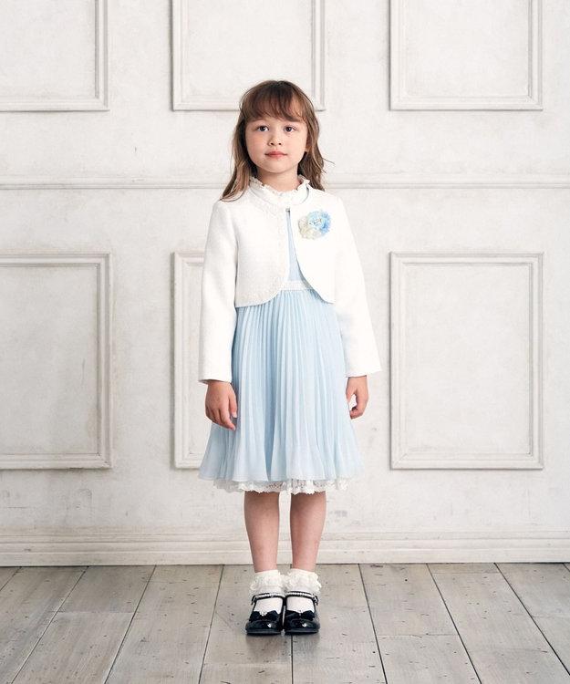 any FAM KIDS 【100-130cm】シフォンプリーツ ワンピース