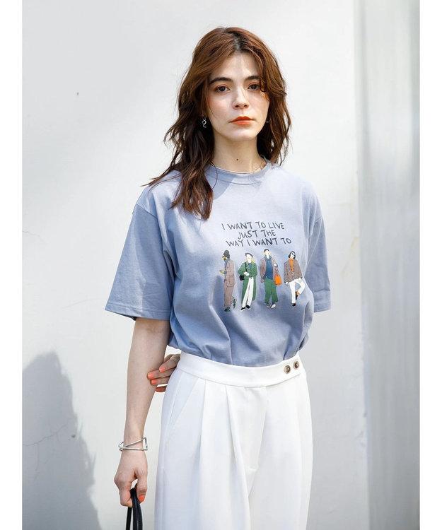 koe プリントTシャツ