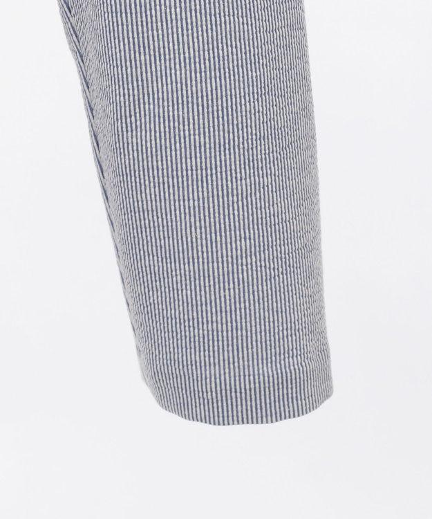DAKS 【WEB&一部店舗限定】コットンリネンストライプジャージー ジャケット