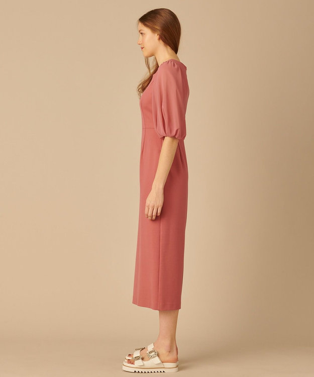 TOCCA 【TOCCA LAVENDER】Puff Sleeve Jersey Dress ドレス