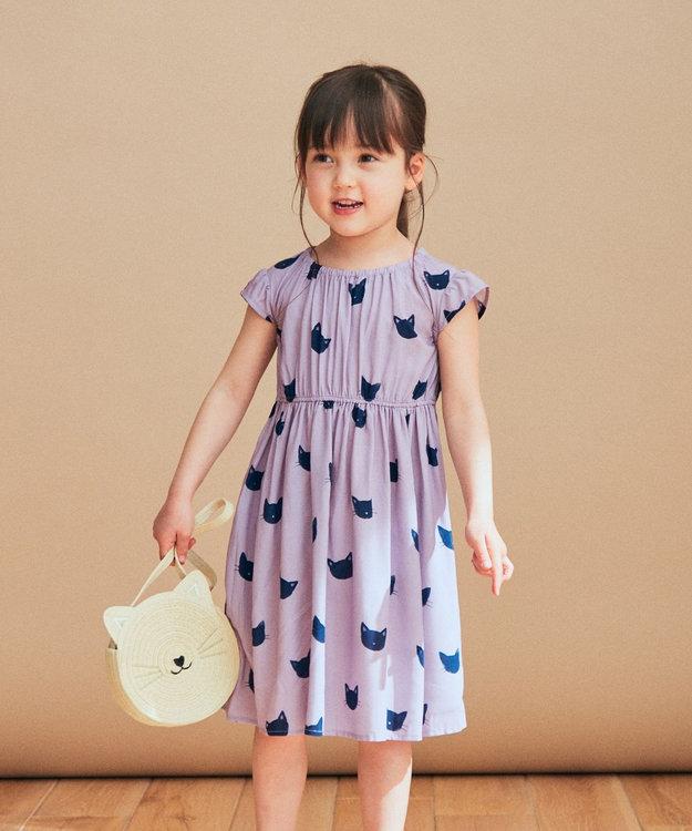 any FAM KIDS 総柄サマー ワンピース