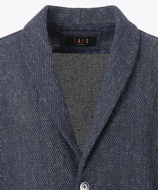 DAKS 【WEB&一部店舗限定】リネンコットンハニカムジャージーショール カーデジャケット