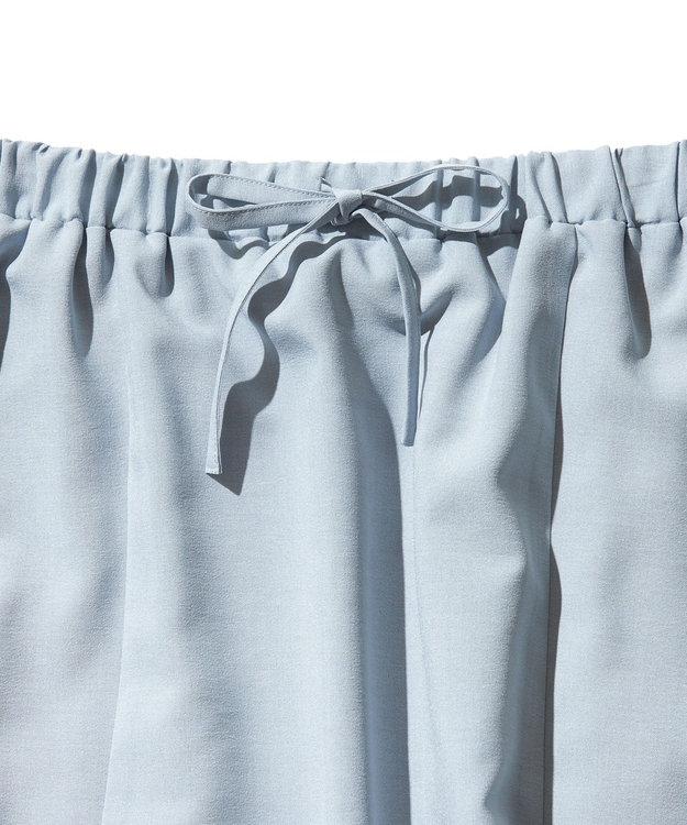 J.PRESS YORK STREET 【WOMEN】【接触冷感】リネンライク マーメイドスカート