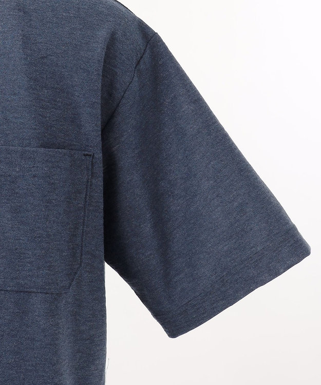 JOSEPH ABBOUD 【SPACE】OGスラブプレーティング天竺 ポロシャツ