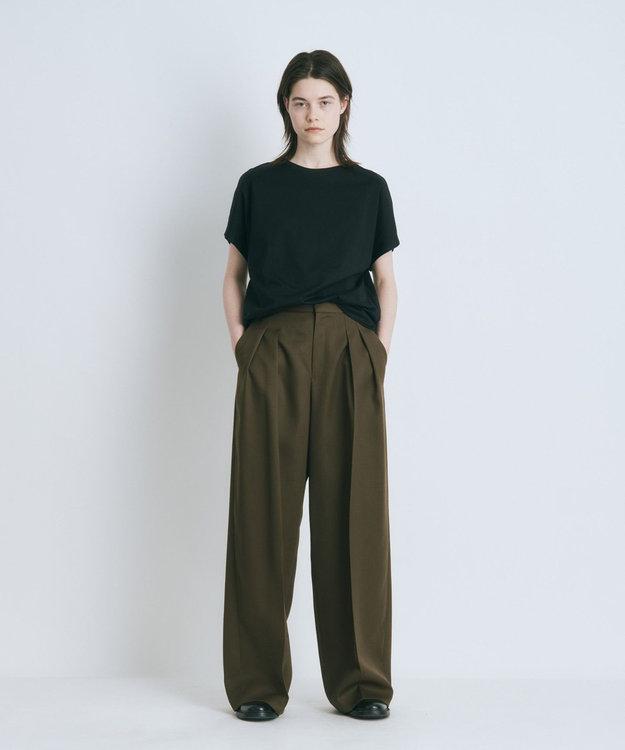 ATON SUVIN 60/2   キャップスリーブTシャツ