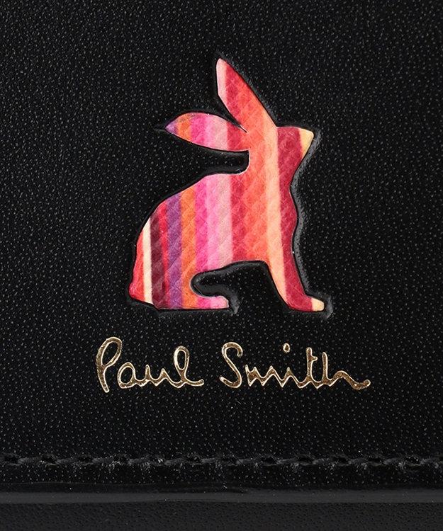 Paul Smith マーケトリーストライプラビット 3つ折り財布