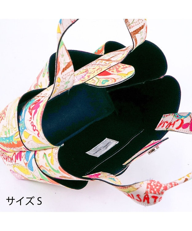 tsumori chisato CARRY カットオブツールバッグS ハッピースタッフ トートバッグ
