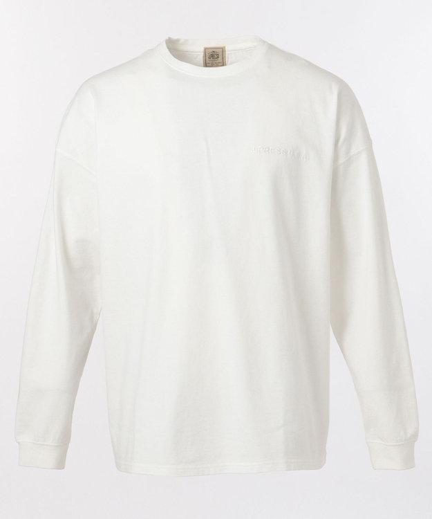 J.PRESS MEN 【J.PRESSロゴ】天竺 Tシャツ