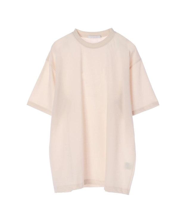 koe 梨地天竺クルーネックTシャツ