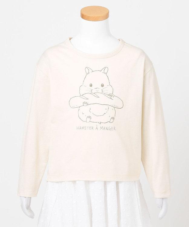 any FAM KIDS アニマル オーガビッツ 長袖Tシャツ