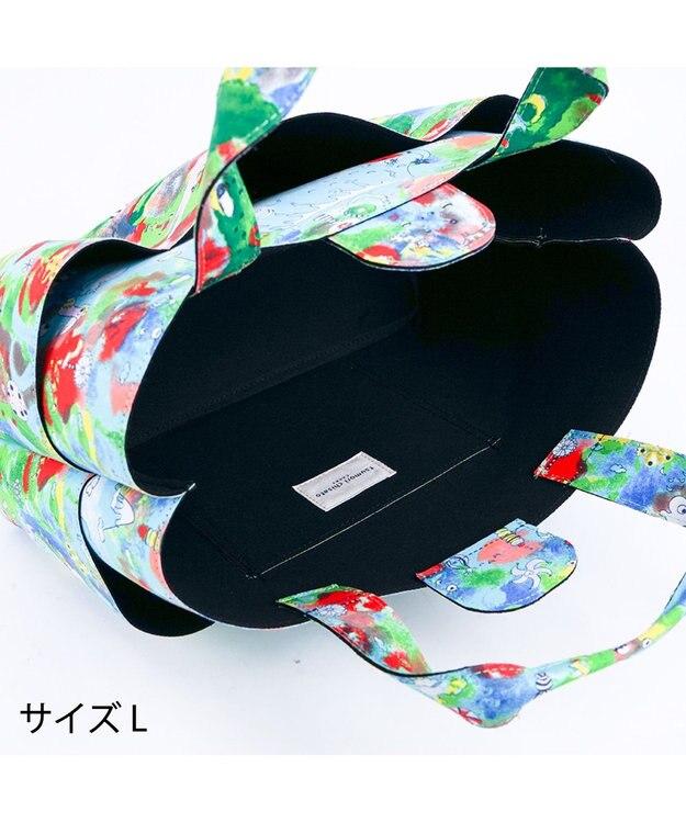tsumori chisato CARRY カットオブツールバッグL ひまわり トートバッグ