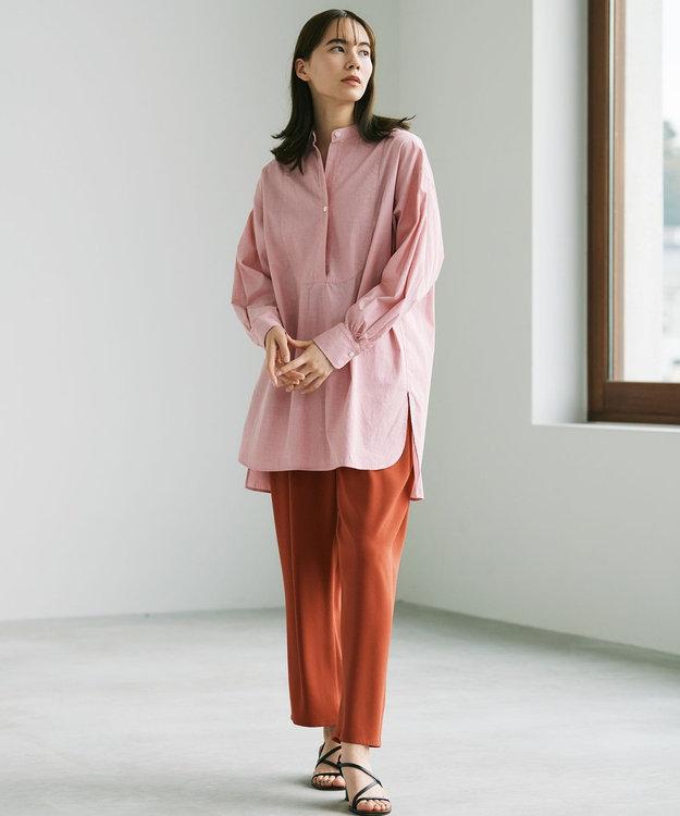 #Newans 【マガジン掲載】AUDREY/ バックオープンシャツ(番号47)
