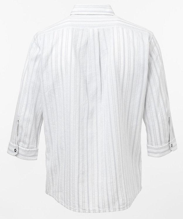 JOSEPH ABBOUD ジョーコットンリバーシブル 七分袖シャツ