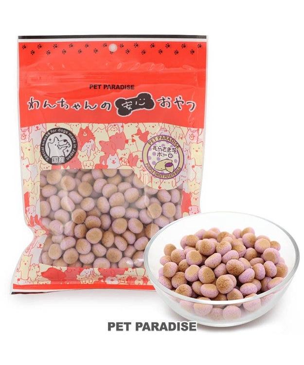 PET PARADISE 犬 おやつ 国産 大袋 紫いも ボーロ 160g オヤツ むらさきいも 紫芋 紫イモ ムラサキイモ