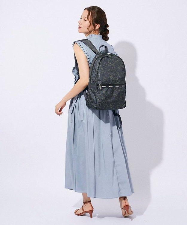 LeSportsac CARRIER BACKPACK/フレンズフレームワーク