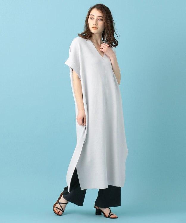#Newans 【マガジン掲載】洗える/ ストレッチサテンストレートパンツ(番号NK37)