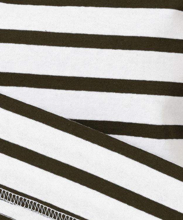 自由区 【WEB限定カラー有】Le Minor(ルミノア) ボーダーカットソー