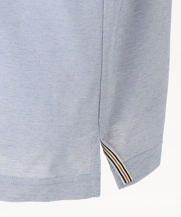 DAKS 【WEB&一部店舗限定】ハウスカラーブロック ハイゲージカノコ ポロシャツ