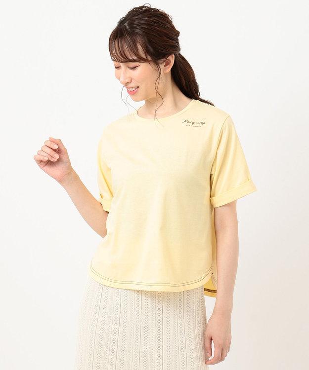 Feroux 【洗える】Flower Language Tシャツ