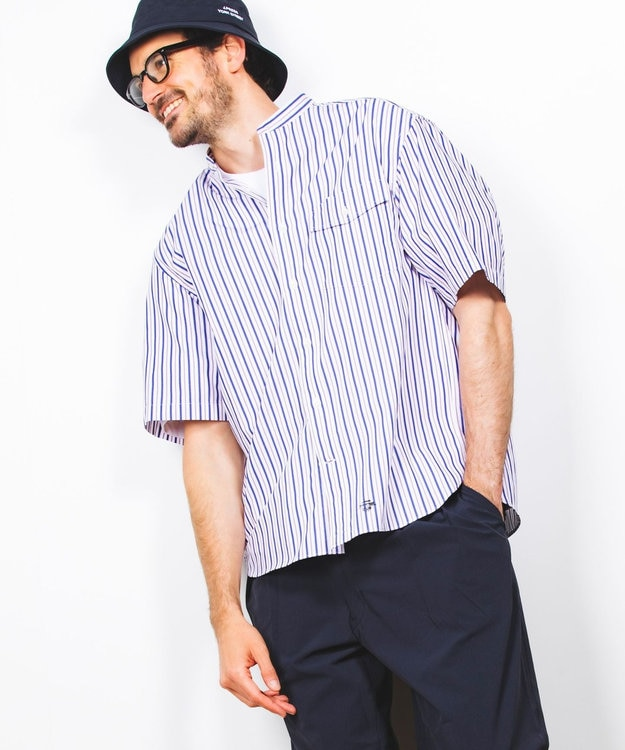J.PRESS YORK STREET 【UNISEX】ロゴ刺繍バケットハット