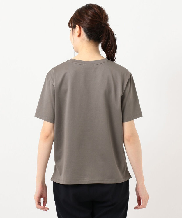 J.PRESS LADIES ミニロゴ Tシャツ