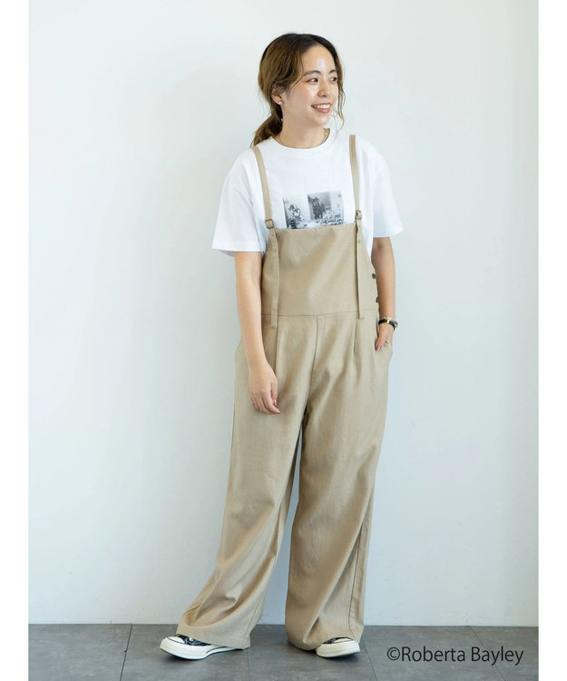 earth music&ecology 【WEB限定】Roberta Bayley Tシャツ A