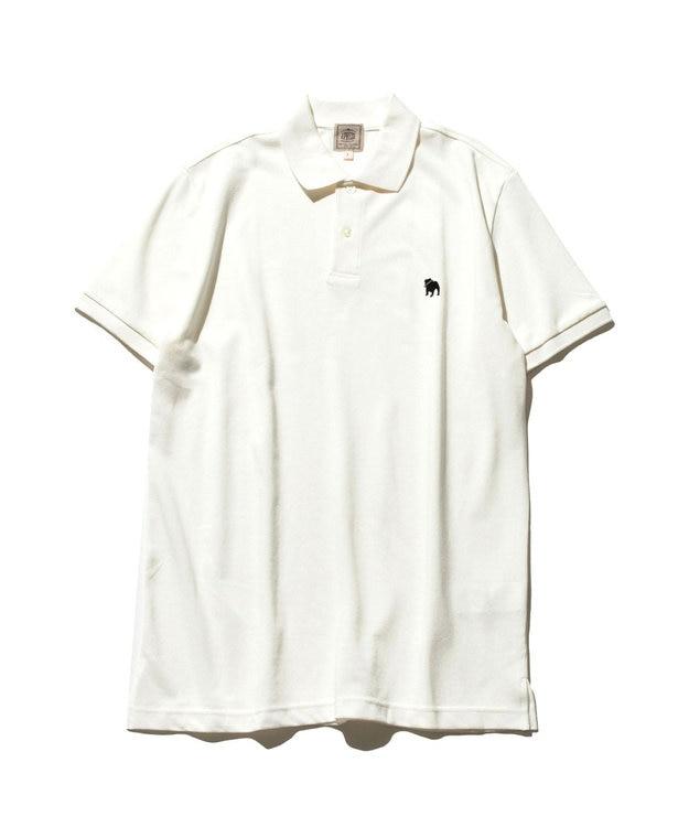 J.PRESS MEN 【大人気】アメリカンコットン 鹿の子 バックブル ポロシャツ