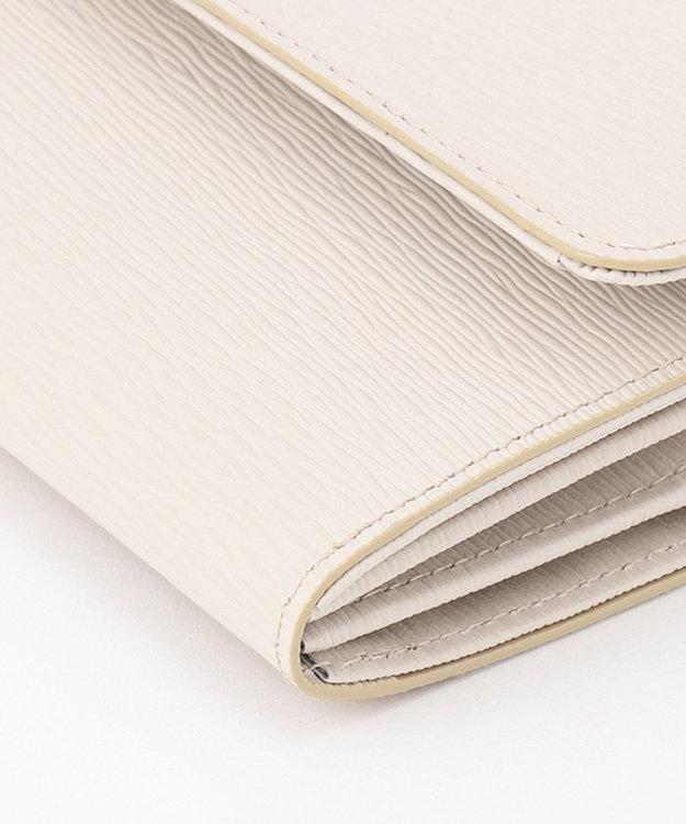 CYPRIS 【WEB限定仕様】リサッカ 日本製 型押し牛革 ハニーセルギャルソン長財布