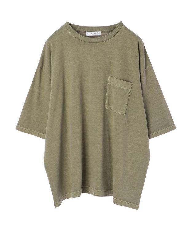 Green Parks 加工ビッグシルエットTシャツ