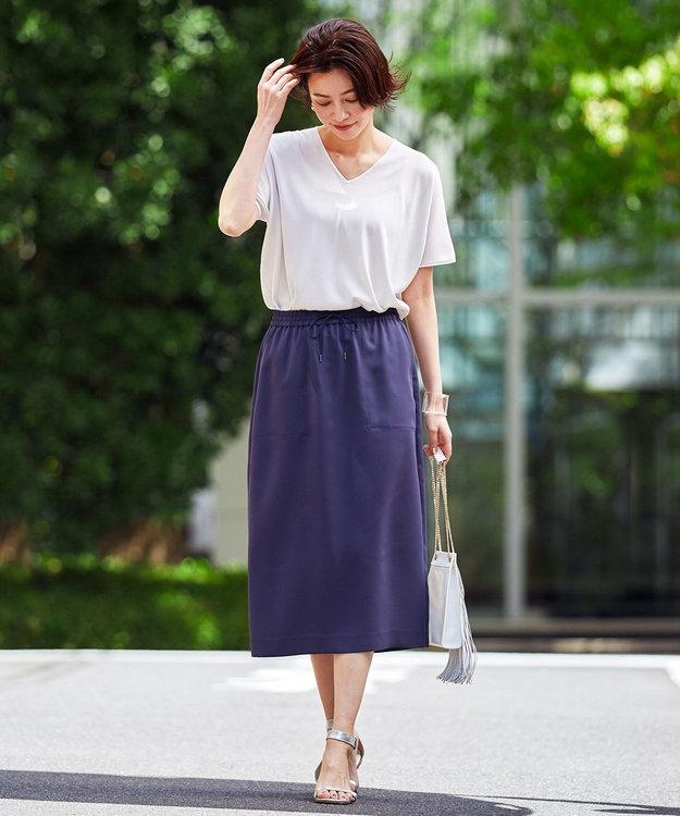 ICB 【WEB限定カラーあり】Synthetic Yarn 半袖 ニット