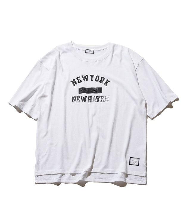 J.PRESS YORK STREET 【UNISEX】 カレッジ Tシャツ