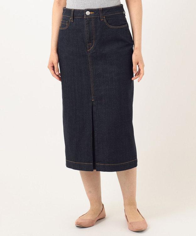 組曲 【洗える】AQUATIC DENIM デニムスカート